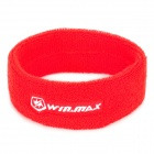WINMAX WMY17087 Sport Cotton Fiber Towel Head Band - Red