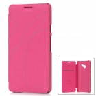 KALAIDENG Stylish Protective Case for Huawei ASCEND D2 - Deep Pink