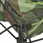 BKSP-030 Portable Camping Fishing Canvas Chair Stool - Camouflage + Black
