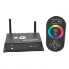 3-CH Wi-Fi Cell Phone Controlled RGB Light Strip Controller + Receiver Set - Black + White