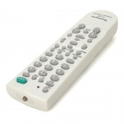 Universal Remote Controller for TV or DVD / VCD Player - White + Grey + Green (2 x AA)