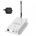 "01 50mW 2.4GHz Wireless Mini 1/3"" CMOS Camera w/ Receiver - Silver + Black"