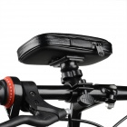 Stylish Bike Water Resistant Bag w/ 360 Degree Rotating Holder for Samsung Galaxy S4 i9500 - Black