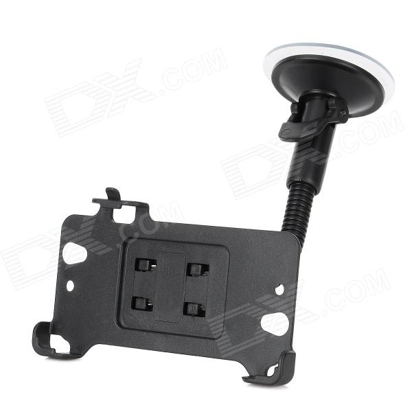 Car Windshield Swivel Mount Holder Stand Support for Sony Xperia Z L36H - Black car windshield swivel 360 degrees rotate mount holder for the new ipad black
