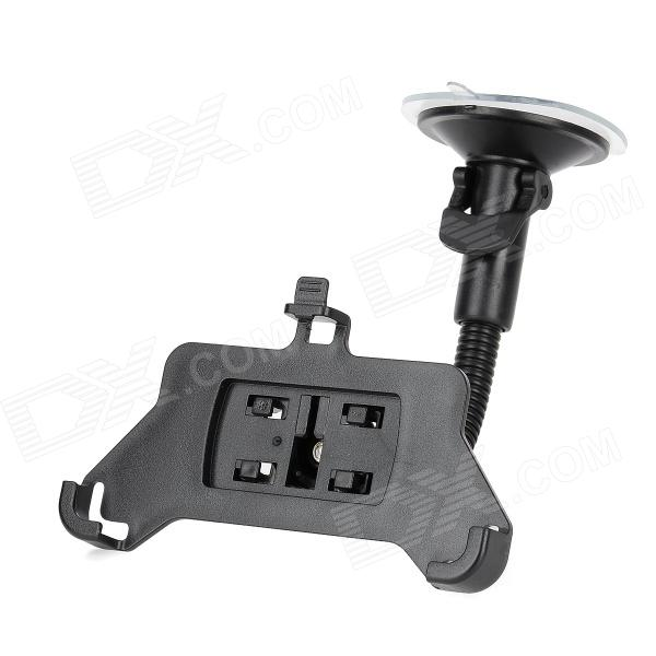 Car Windshield Swivel Mount Holder Stand Support for BlackBerry Z10 - Black car windshield swivel 360 degrees rotate mount holder for the new ipad black