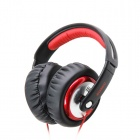 SOMiC MH489 Hi-Fi DJ Headphone - Black + Red (3.5mm Plug / 170cm)