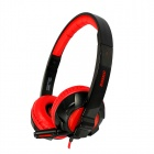 SOMiC G921 Headphone Headset for PC Gaming w/ Microphone - Black + Red (Dual 3.5mm Plug / 230cm)