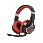 SOMiC G945v2012 Virtual 7.1-Channel Headphone w/ Mic / Remote Control -  Black + Red (USB / 300cm)
