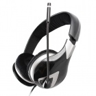 SOMiC G945 Virtual 7.1-Channel Headphone w/ Mic / Remote Control - Black + Silver (USB / 290cm)