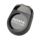 ADATA UD310 Mini Stone Shape USB 2.0 USB Flash Drive - Black (32GB)