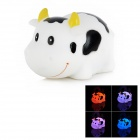 Smiling Milk Cow Kids Funny Bathing Toy w/ Seven Color Change Flashing LED (2 x LR626)
