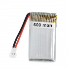 "Replacement 3.7V ""600mAh"" Li-ion Polymer Battery for Electronic Toys - Silver"