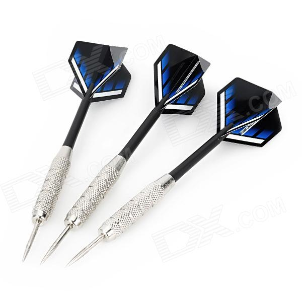 Plane Wing Pattern Iron Nickel-Plated Plastic Darts - Silver + Black (3 PCS) планшет digma plane 1601 3g ps1060mg black