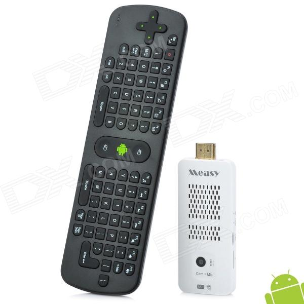 Measy U2C + RC11 Air Mouse Dual-Core Android 4.1 Google TV Player w/ 2.0MP Camera, 1GB RAM, 8GB ROM