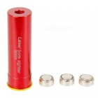 Cartridge Red Laser Bore Sight for 20GA Caliber Gun - Red (3 x AG13)