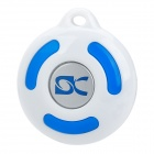 BL-1000 Intelligent Bluetooth v2.0 Speaker Cell Phone Anti-Lost Anti-Theft Device - White + Blue