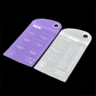 Protective PVC Waterproof Bag for IPHONE + More - Purple + White(2PCS)