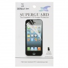 Protective PET Clear Screen + Back Protector for Google Nexus 4 - Transparent (2 PCS)