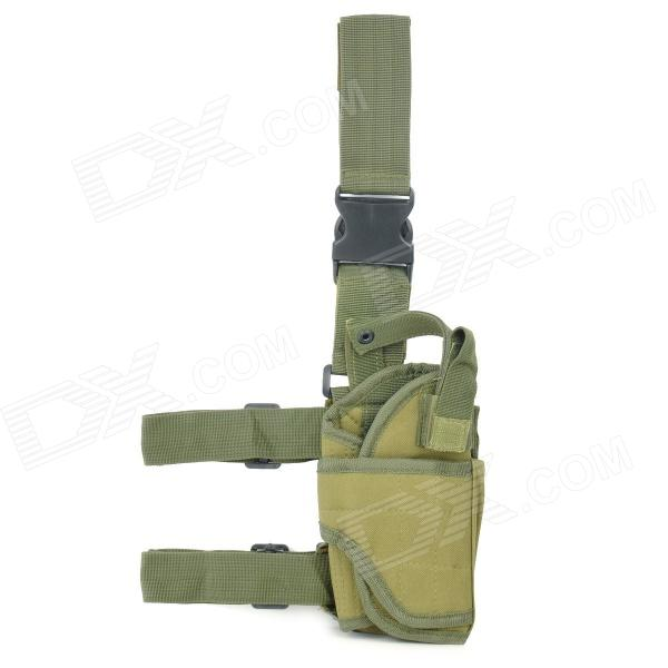 Military Outdoor War Game Gun Pistol Holster - Army Green fire maple sw28888 outdoor tactical motorcycling wild game abs helmet khaki