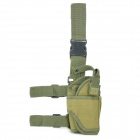 Military Outdoor War Game Gun Pistol Holster - Army Green