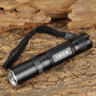 Small Sun ZY-C50 Cree XR-E Q5 100~180lm 3-Mode White Flashlight - Black (1 x 18650)
