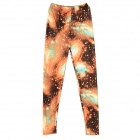 Fashion Cotton Leggings for Women - Multicolored (Free Size)