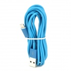 Lightning 8-Lin Male to USB 2.0 Male Data Sync Cable for iPhone 5 / iPad 4 - Light Blue (300cm)