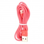 Blitz 8-Pin Stecker auf USB 2.0 Male Data Sync-Kabel für iPhone 5 / iPad 4 - Rot (200cm)