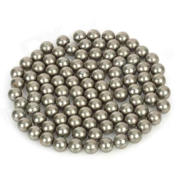 Outdoor Sports Steel Beads for Slingshot Game - Silver (100 PCS)