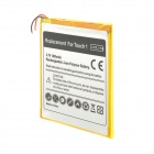Replacement 3.7V 800mAh Li-ion Polymer Battery for iPod Touch 1 - White + Golden