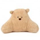 645-3 Cartoon Bear Style Plush + PP Cotton Waist Cushion / Pillow - Beige + Brown + Black