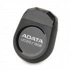ADATA UD310 Mini Stone Shape USB 2.0 USB Flash Drive - Black (16GB)