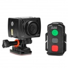 "AEE sd21 1.5"" / 0.6"" 8MP CMOS HD Wide Angle Sporty Digital Video Camcorder w/ TF / Mini USB - Black"