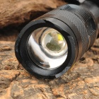 UltraFire SK68 80 ~ 150lm 3-Mode White Zooming Фонарик с Cree XR-E Q5-Черный (1 x AA / 14500)