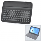 Rechargeable Bluetooth V3.0 Wireless 82-Key Keyboard for Google Nexus 10 - Black