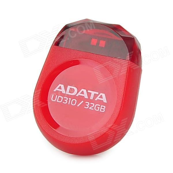 купить  ADATA UD310 Mini Stone Shape USB 2.0 USB Flash Drive - Red (32GB)  онлайн