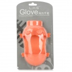 Cute Pig Style Silicone Heat Resistant Kitchen Cooking Glove - Salmon Pink