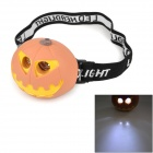 LT-20L Cute Squash Style 37lm 13000mcd 2-Mode 2-LED Neutral White Light Headlamp for Children