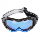 Sports Skiing UV Protection Anti-Fog Goggles - Blue + Black