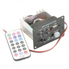"20W 12V 5"" Car MP3 Player Module w/ SD / USB / Remote Controller - Black"