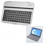 Rechargeable Bluetooth V3.0 Wireless 82-Key Keyboard for Google Nexus 10 - Black + Silver