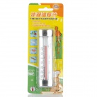 MINGLE G761 Refrigerator Freezer Thermometer for Home - White