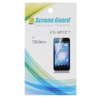 Protective PET Clear Screen Guard for HTC T328d - Transparent