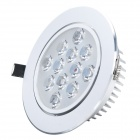 HIWIN HSD594 12W 880lm 2700~3500K 12-LED Warm White Down Light (AC 85~265V)