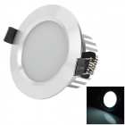 HIWIN HTD692 5W 240lm 6400K 10-5730 SMD LED White Down Light w/ LED Driver (AC 85~265V)
