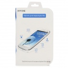 Myfone Clear Anti-Crash Toughened Glass Screen Guard Protector for Samsung 7100 - Blue