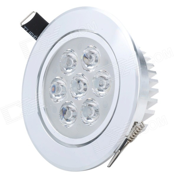 HSD592 7W 560lm 6000~6500K 7-LED White Down Light (AC 85~265V) tutucover tutucover дизайн для lg nexus 5 2574