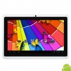 "CUBE U18GT-S 7"" Capacitive Screen Android 4.1 Dual Core Tablet PC w/ TF / Wi-Fi / Camera - White"