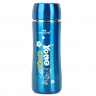Yongquan YQS11-050 Stainless Steel Vacuum Cup Bottle - Bright Blue + Silver (200ml)