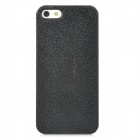 Stylish Protective ABS Back Case for Iphone 5 - Black